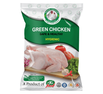 Green Chicken With Skin (Whole)